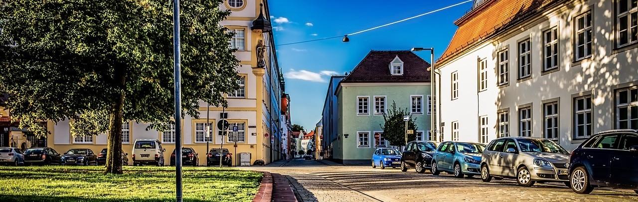 Ulica w Ingolstadt